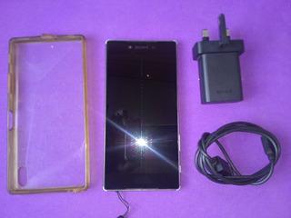 Smartphone Sony Xperia Z5 Premium Prateado E6853, Um Chip