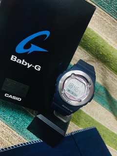 Reloj Casio Baby-g. Bg-1300-2dr- Sumergible-cronometro
