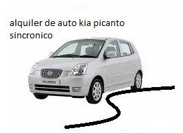 .alquiler De Auto Kia Picanto A/a