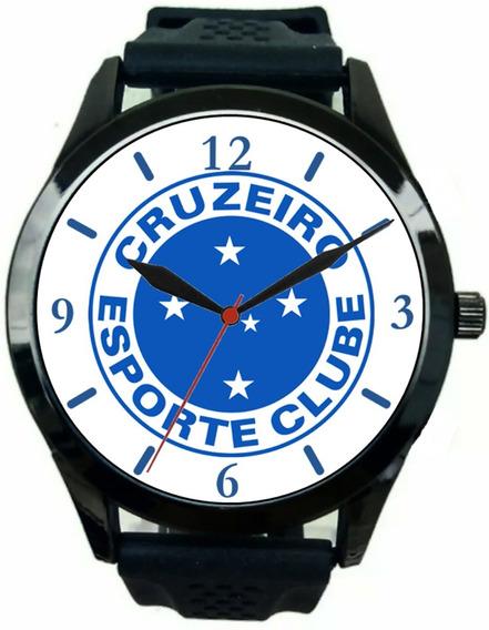 Relógio Pulso Esportivo Masculino Cruzeiro Barato Promoção