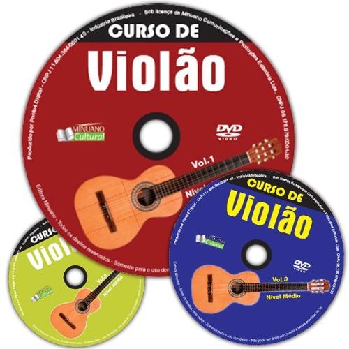 Violão Curso Em Dvd - Videoaula Com Marco Prado