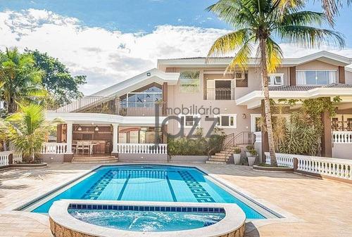 Maravilhosa Chácara Com 5 Dormitórios (suites) À Venda, 5000 M² Por R$ 4.200.000 - Recanto Dos Pássaros - Indaiatuba/sp - Ch0327