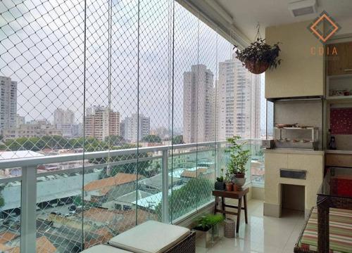 Apartamento Para Compra Com 3 Quartos E 3 Vagas Localizada Na Vila Romana - Ap53475