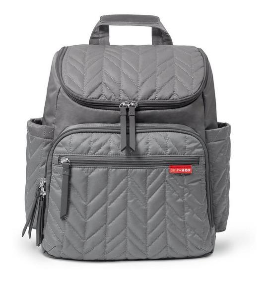 Bolsa Maternidade Skip Hop - Coleção Forma Backpack - Grey