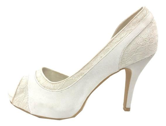 Zapatos De Novias Exclusivos Blancos