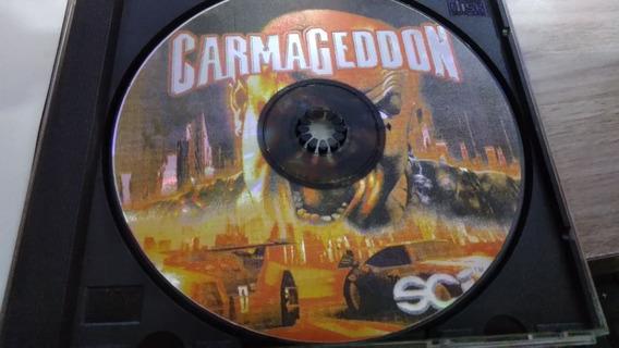 Carmageddon Playstation 1 Prensado