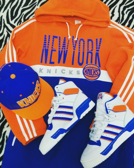 Tênis Basquete adidas Original Basquete New York Knicks39/40