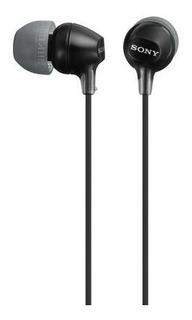 Auriculares In-ear Con Micrófono Sony Mdr-ex15ap - Negro