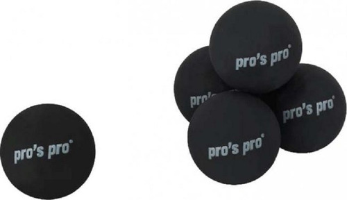Imagen 1 de 3 de Pelota Squash Pros Pro - Un Punto Amarillo