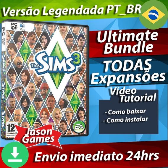 The Sims 3 - Todas As Expansões Completo Ultimate Bundle Pc