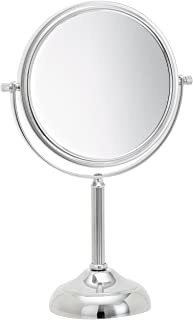Jerdon Jp916c 6-inch Vanity Mirror With 5x Magnification, Ch