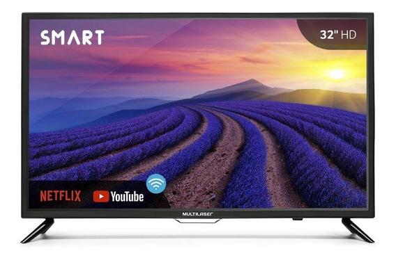 Monitor Smart Tela 32 Polegadas Hd Wi-fi Tl006 Multilaser