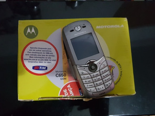 Celular Motorola C650 Mundo Oi Raridade