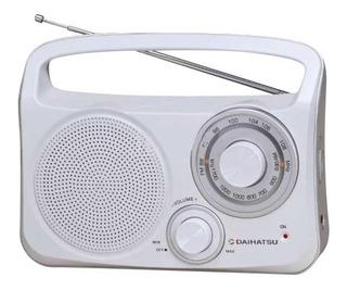 Radio Eléctrica Mesa Daihatsu D-rp400 Am-fm Dual 220v Pilas