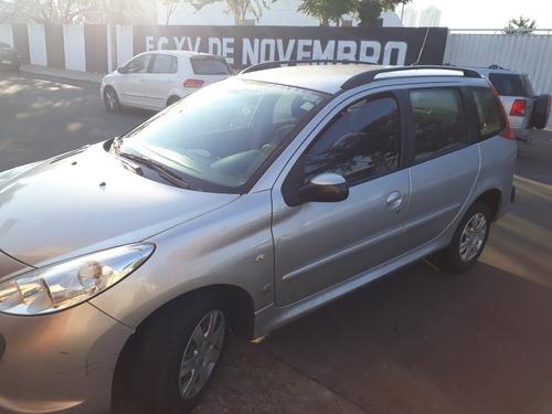 Peugeot 207 Sw 2009 1.4 Xr Flex 5p