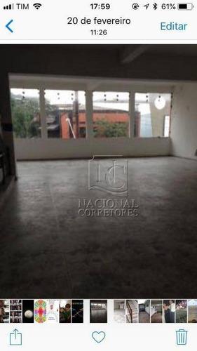 Salão Comercial Para Locação, Centro, Santo André. - Sl0611