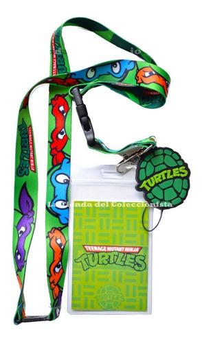Las Tortugas Ninja Porta Carnet Identificacion Importado