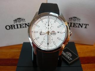 Orient Sport Cronografo White Dial Ftt0x005w Promo Cuotas