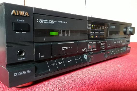 Tape Deck Aiwa Ad-wx707 - Precisa De Revisão