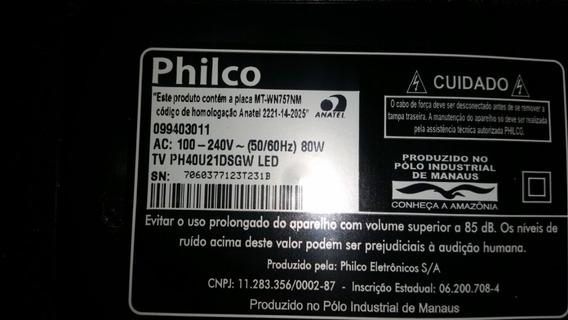 Placa Principal Tv Philco Ph32m6