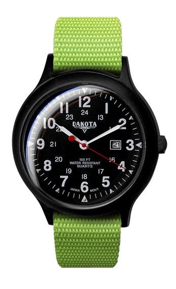 Reloj De Cuarzo Y Plástico De Cuarzo Para Hombres De Dakota