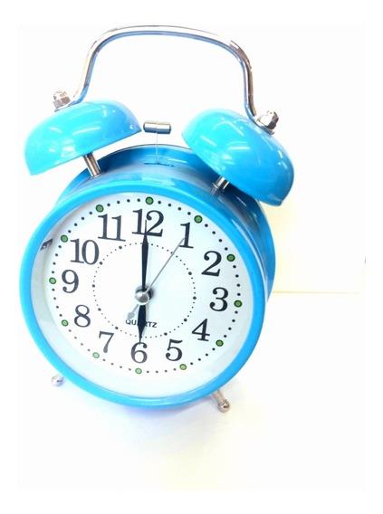 Reloj Despertador De Campana Para Mesa/tocador