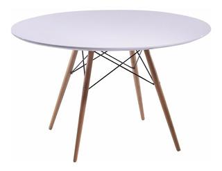 Mesa Comedor Eames 120cm Blanca Minimalista!!!