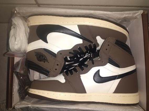 Tênis Nike Air Jordan 1 High Travis Scott Cactus Jack