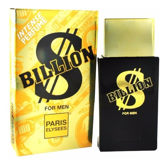 Perfume Billion For Men Paris Elysees 100 Ml - Original
