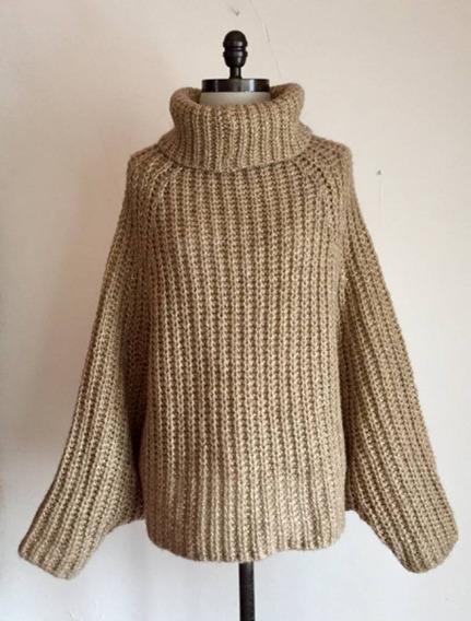 Suéter Uterque Dorado S/m #780
