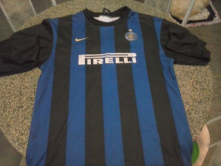 Camisa Da Inter De Milao