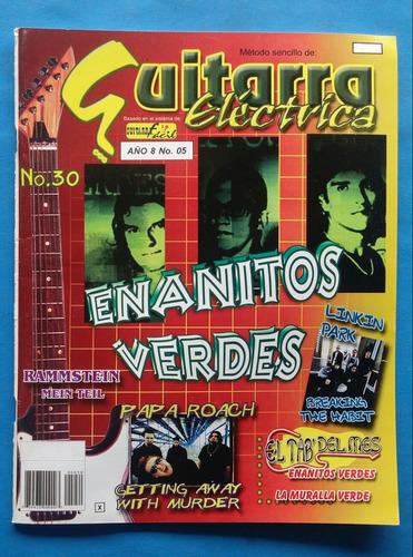 Guitarra Eléctrica/ Especial/ Enanitos Verdes/ Envio Incluid