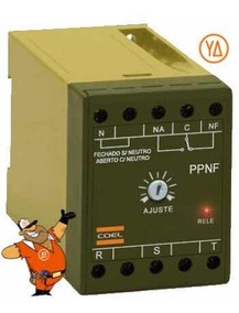 Relê Falta De Fase Ppnf 110 Vts Coel