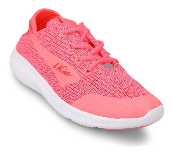 Zapatillas Mujer L.a Gear Roots (lam-05422) Coral