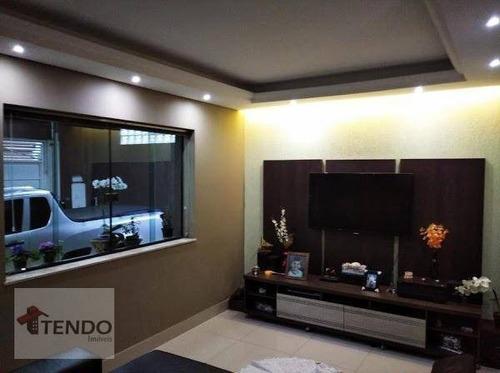 Imagem 1 de 21 de Imob01 - Casa 240 M² - 3 Dormitórios - 1 Suíte - Rudge Ramos - São Bernardo Do Campo/sp - Ca0166