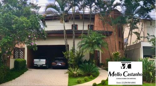 Imagem 1 de 10 de Casa Em Condomínio Para Venda Em Santana De Parnaíba, Alphaville 5, 4 Dormitórios, 2 Suítes, 6 Banheiros, 4 Vagas - 1001302_1-1851313