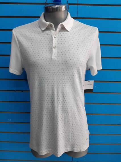 Camisa Polo Calvin Klein Slimfit S-chica Nueva Original