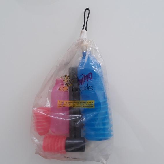 Brinquedo Antigo Plástico Bolha Kit Lacrado De Época Mimo