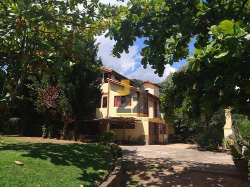 Imagem 1 de 30 de Chácara Com 4 Dormitórios À Venda, 1200 M² Por R$ 580.000,00 - Chácara San Martin I - Itatiba/sp - Ch0782