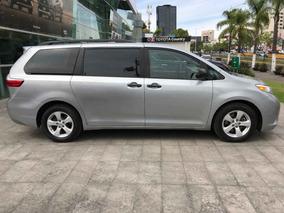 Toyota Sienna 5p Ce V6/3.5 Aut 2017 Crédito