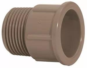 Adaptador Plastubos Soldavel 60mm X 2 Marrom