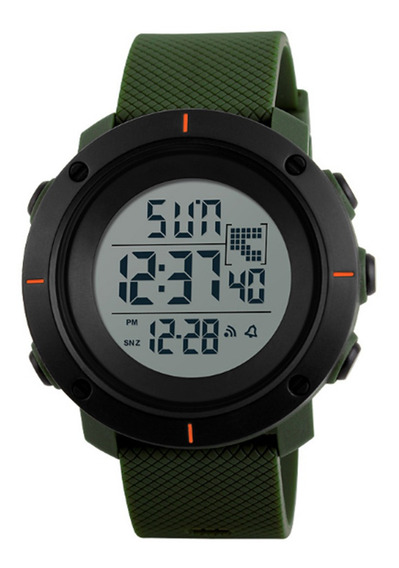 Relógio Masculino Skmei Digital1213 Verde