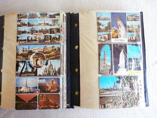 Coleção Com 249 Cartões Postais Estrangeiros - Europa