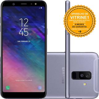Samsung Galaxy A6+ A605g 64gb Dual 4g 16mp Prata Vitrine 1