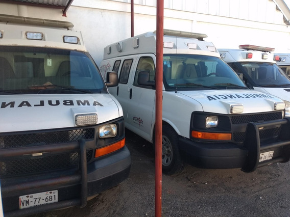 Ambulancias Chevrolet Mod. 2011 Aut.