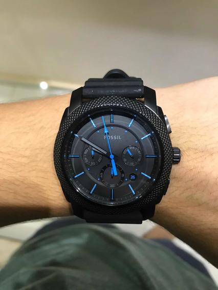 Relógio Fóssil Masculino Modelo Machine Black