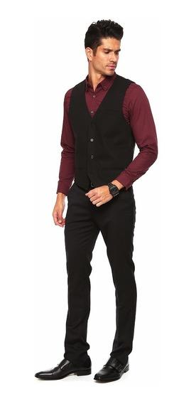 Promo Chaleco, Pantalon, Moño Y Camisa Hombre Vestir