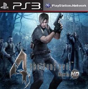 Resident Evil 4 Ps3 Psn Envio Agora