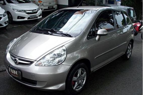 Honda Fit Lxl 1.4 Automatico 2007 Dourado