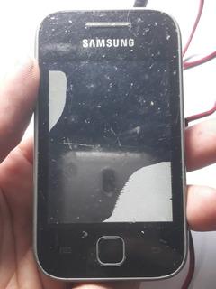 Celular Samsung Galaxy Y Gt -s5360b Original-sucata-defeitos